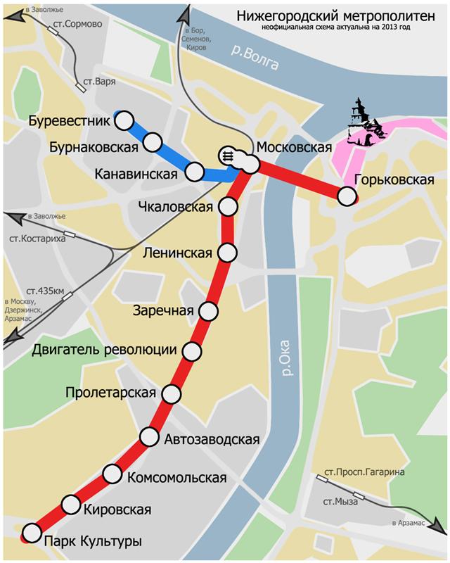 Схема Нижегородского