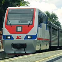 Новый локомотив ту10 для Нижегородской Детской Железной Дороги